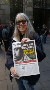 Muslims are welcome. Racists are not.