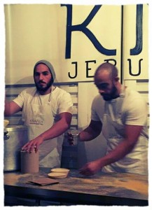 The bearded bakers, doing what they do best