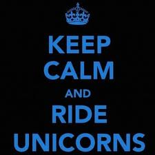 I say random things fun fact: my heart thinks unicorns are real