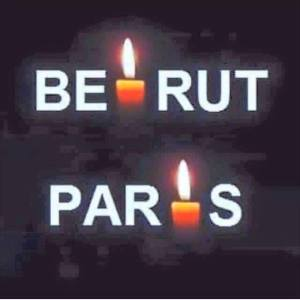 beirut and paris candles